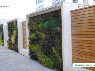 Koru Florya Rezidans duvar peyzajı