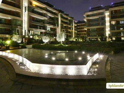 Koru Florya Rezidans Havuz Işıklandırma