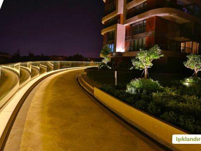 Koru Florya Rezidans Işıklandırması
