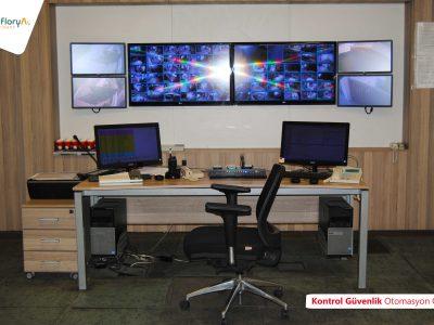Koru Florya Rezidans Kontrol Güvenlik Otomasyon Odası