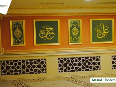 Koru Florya Rezidans mescid tablolar