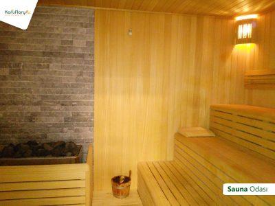 Koru Florya Rezidans sauna odası