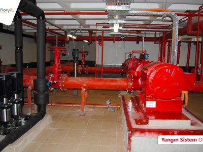 Koru Florya Rezidans Yangın Sistem Odası