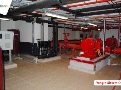 Koru Florya Rezidans Yangın Sistem Alanı