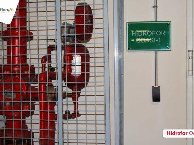 Koru Florya Rezidans Hidrofor odası giriş