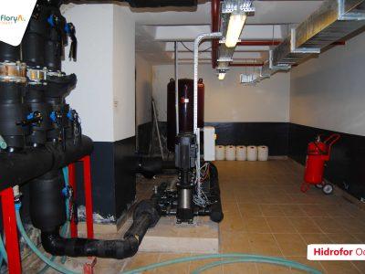 Koru Florya Rezidans Hidrofor odası