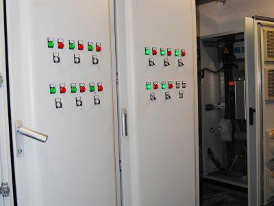 Koru Florya Rezidans Elektrik Odası İçi