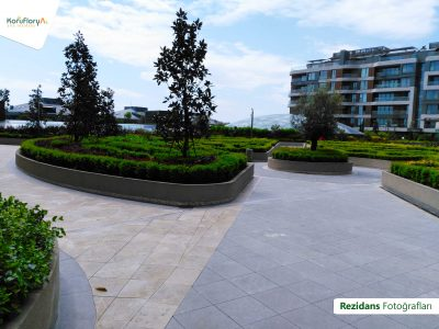 Koru Florya Rezidans Bahçe meydan