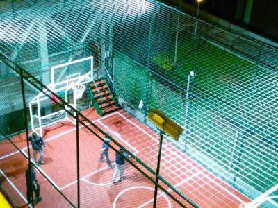 Koru Florya Rezidans basketbol alanı