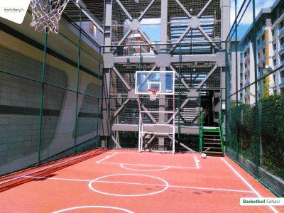 Koru Florya Rezidans basketbol sahası