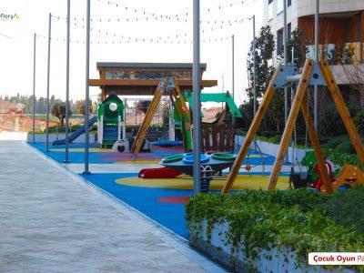 Koru Florya Rezidans çocuk oyun parkı