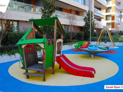 Koru Florya Rezidans çocuk parkı