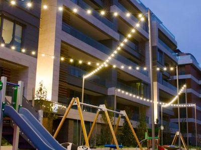 Koru Florya Rezidans Çocuk Parkı Işıklandırması