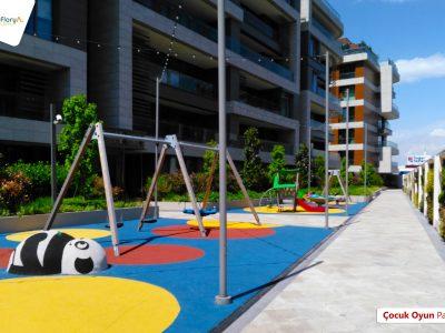 Koru Florya Rezidans çocuklar için oyun alanı