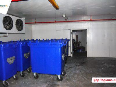 Koru Florya Rezidans Çöp Toplama Alanı