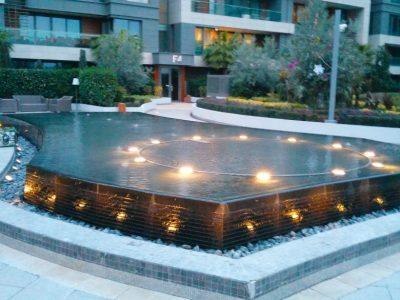 Koru Florya Rezidans Havuz Işıklandırması