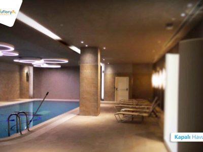 Koru Florya Rezidans kapalı havuz köşe