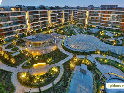 Koru Florya Rezidans Konut Işıklandırması