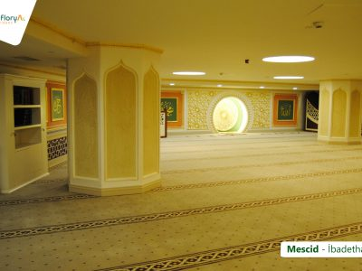 Koru Florya Rezidans mescid iç görüntü