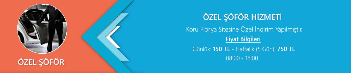 Koru Florya Rezidans Özel Şöför Hizmeti