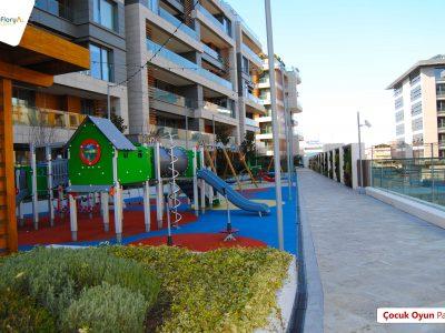 Koru Florya Rezidans çocuk park alanları