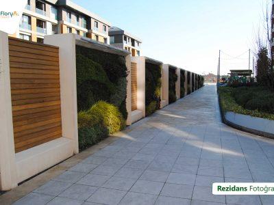 Koru Florya Rezidans oyun parkı girişi