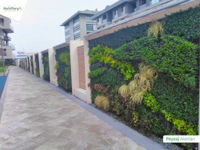 Koru Florya Rezidans peyzaj bahçe