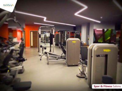 Koru Florya Rezidans Fitness Alanı