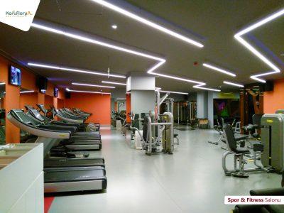 Koru Florya Rezidans Spor Salonu İçi